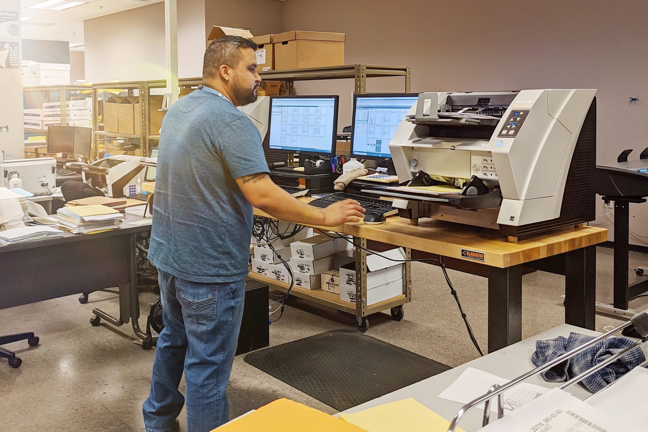 Scanning Services in Phoenix, Arizona | ICM Document Solutions